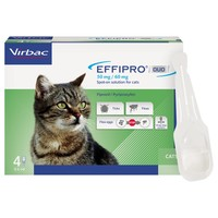 Effipro Duo Spot-On Solution for Cats (4 Pipettes) big image