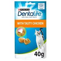 Purina Dentalife Dental Treats for Cats 40g big image
