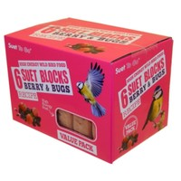 Unipet Suet To Go Suet Blocks (Berry & Bugs) big image