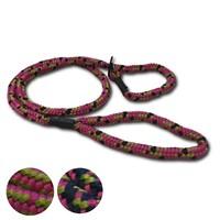 VetUK Patterned Nylon Rope Dog Slip Lead big image