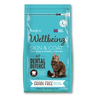 Burgess Wellbeing Skin & Coat for Cats 1.5Kg (Chicken)