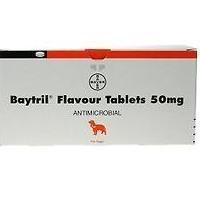 Baytril 50mg Flavour Tablet big image