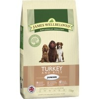 James Wellbeloved Junior Dog Turkey and Rice big image