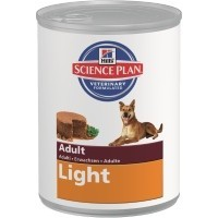 Hills Science Plan Light Medium Adult Dog Food Tins 12 x 370g (Chicken) big image