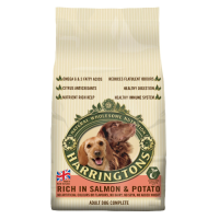 Harringtons Complete Rich in Salmon & Potato Dog Food big image