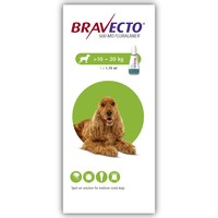 Bravecto 500mg Spot-On Solution for Medium Dogs (Single Pipette) big image