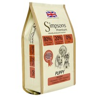 Simpsons Premium Puppy Dry Dog Food (80/20 Mixed Fish and Chicken) big image