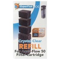 Super Fish Aqua Flow Crystal Clear Cartridges 50 big image