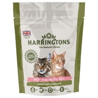 Harringtons Complete Dry Food for Adult Cats (Salmon with Rice) 2kg big image