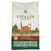 Vitalin Adult Dry Cat Food (British Chicken) 1.5kg big image