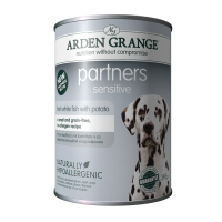 Arden Grange Partners 24 x 395g Dog Food Tins - Sensitive big image