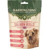Harringtons Salmon Rolls Treats for Dogs 160g big image
