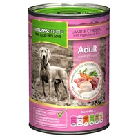 Natures Menu Adult Dog Food 12 x 400g Cans (Lamb with Chicken) big image