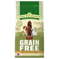 James Wellbeloved Adult Dog Grain Free Dry Food (Turkey & Vegetables) big image