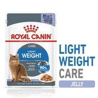 Royal Canin Light Weight Care Pouches in Jelly Adult Cat Food big image