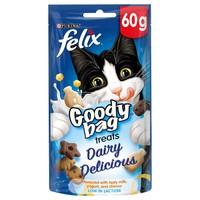 Felix Goody Bag Treats (Dairy Delicious) 60g big image