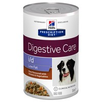 Hills Prescription Diet ID Low Fat Tins for Dogs (Stew with Chicken & Vegetables) big image