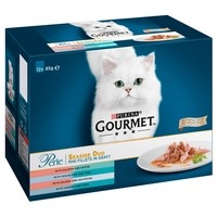 Purina Gourmet Perle Adult Cat Food Pouches (Seaside Duo) big image