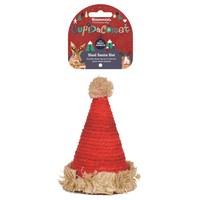 Rosewood Cupid & Comet Sisal Santa Hat for Small Animals big image