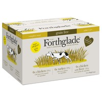 Forthglade Complete Meal Grain Free Dog Food (Variety Pack) big image