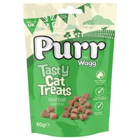 Purr Tasty Cat Treats with Hairball Control 60g big image
