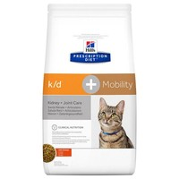 Hills Prescription Diet KD Plus Mobility Dry Food for Cats big image