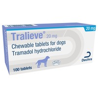 Tralieve 20mg Chewable Tablets for Dogs big image