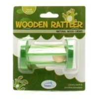Wooden Rattler Circle Wood Chew for Small Animals big image