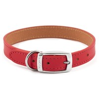 Ancol Heritage Leather Dog Collar (Red) big image