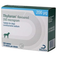 Thyforon 200mcg Flavoured Tablets for Dogs big image