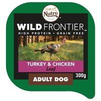 Nutro Wild Frontier Adult Dog Wet Food Tray (Turkey & Chicken) big image