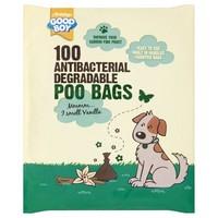 Good Boy Antibacterial Degradable Poo Bags (100 Pack) big image