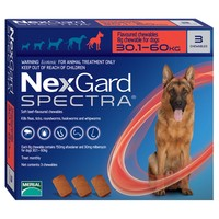 NexGard Spectra Chewable Tablets for Extra Large Dogs big image