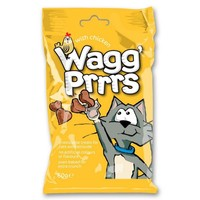 Wagg Prrrs Tasty Cat Treats with Chicken 60g big image