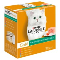 Purina Gourmet Gold Pate Collection Adult Wet Cat Food (Mixed Variety) big image