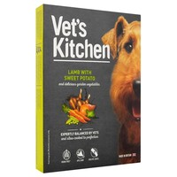 Vet's Kitchen Adult Dog Wet Food Trays (Lamb with Sweet Potato) big image