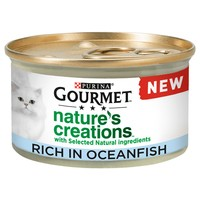 Purina Gourmet Nature's Creations Wet Cat Food (Ocean Fish) big image