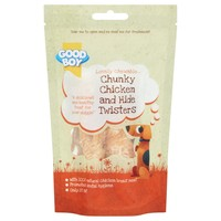 Good Boy Pawsley & Co Chunky Chicken and Hide Twisters 60g big image