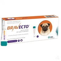 Bravecto 250mg Spot-On Solution for Small Dogs (Single Pipette) big image