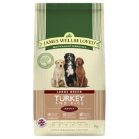 James Wellbeloved Adult Dog Large Breed Dry Food (Turkey & Rice) big image