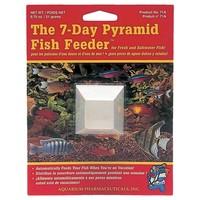 API 7 Day Holiday Pyramid Fish Feeder big image