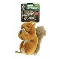 Sammy Squirrel Squeaky Dog Toy big image