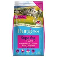Burgess Supadog Greyhound and Lurcher Adult Dog Food (Chicken) 12.5kg big image