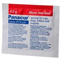 Panacur Wormer Granules 4.5g big image