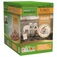 Natures Menu Adult Dog Food 8 x 300g Pouches (Turkey with Chicken) big image