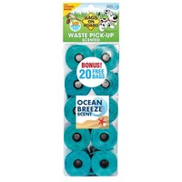 Bags on Board Ocean Breeze Scented Poo Bag Rolls (140 Bags) big image