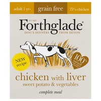 Forthglade Complete Meal Grain Free Dog Food (Chicken with Liver) big image