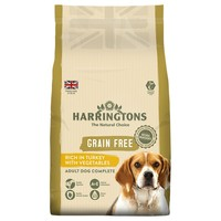 Harringtons Complete Grain Free Dry Food for Adult Dogs (Turkey with Veg) 1.75kg big image