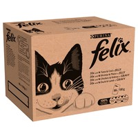 Felix Adult Cat Food Pouches (Bulk Pack) big image
