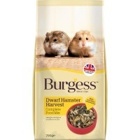 Burgess Dwarf Hamster Harvest Complete Food 700g big image